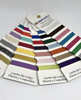 ABANICO CARTA COLOR CUQUILLOS